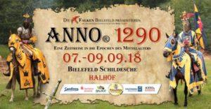 ANNO 1290: Kostenloser Shuttelservice zum Halhof in Bielefeld-Schildesche.