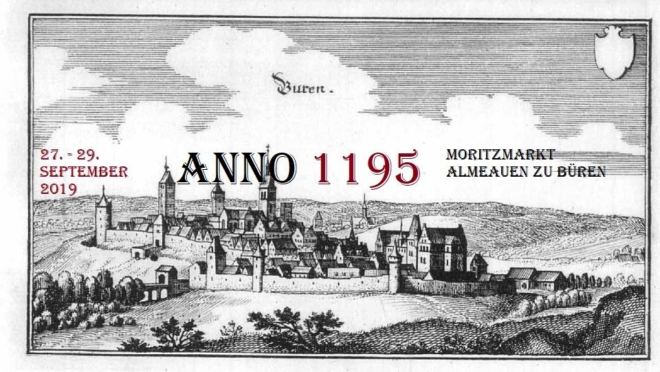 ANNO 1195 auf dem Moritzmark zu Büren