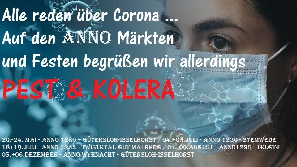 Pest & Kolera anstatt Corona …