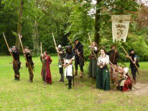 Invitatio zum großen Bogenturnier der Heerlager auf dem 12. Anno 1280.